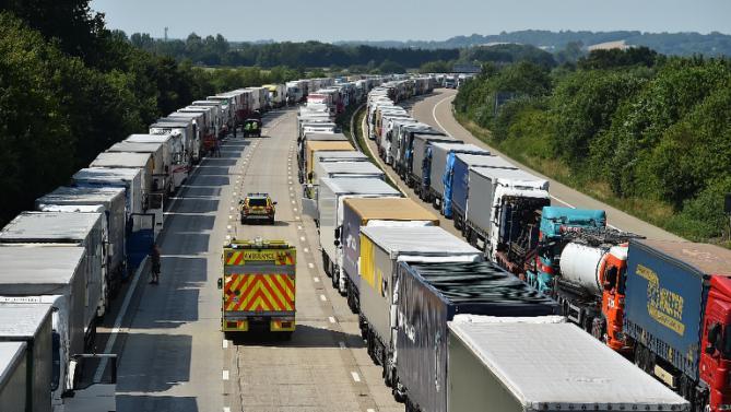 Calais trucks